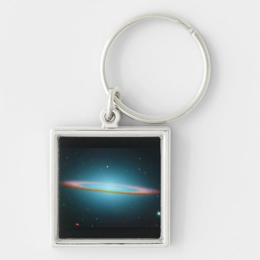 The Sombrero Galaxy - Infrared Keychain