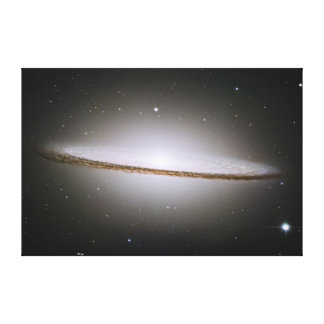 The Sombrero Galaxy M104 NGC 4594 Gallery Wrapped Canvas