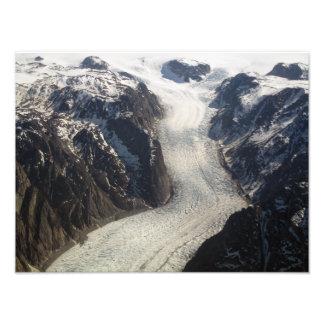 The Sondrestrom Glacier in Greenland Photo Print