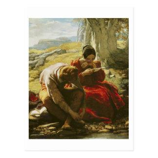 The Sonnet, 1839 (oil on panel) Postcard
