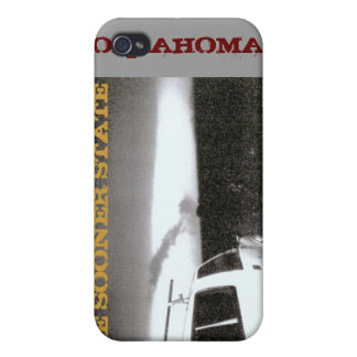 THE SOONER STATE TORNADO OKLAHOMA 2004 iPhone 4/4S COVERS