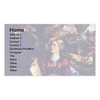 The Sorceress Circe By Birth Name Business Cards
