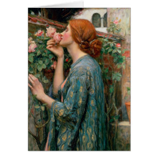 The Soul of the Rose 1908 Greeting Card