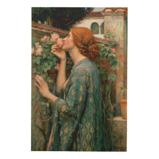 The Soul of the Rose, 1908 Wood Print