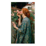 The Soul of the Rose - John William Waterhouse Business Card Template