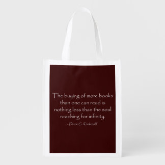 The Soul Reaching for Infinity Reusable Grocery Bag
