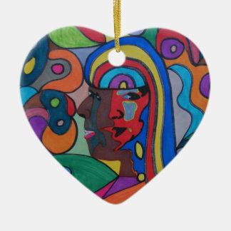 the Soul Singers Ceramic Heart Decoration