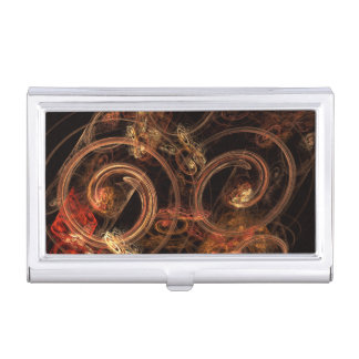 The Sound of Music Abstract Art Business Card Holder