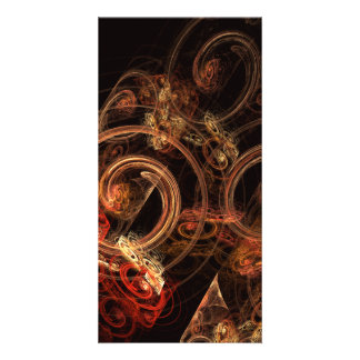 The Sound of Music Abstract Art Photo Card