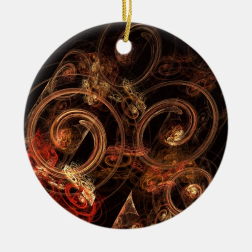 The Sound Of Music Abstract Art Round Ornament Zazzle