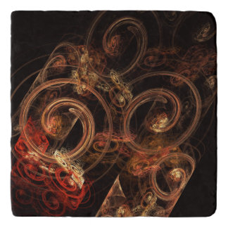 The Sound of Music Abstract Art Stone Trivets