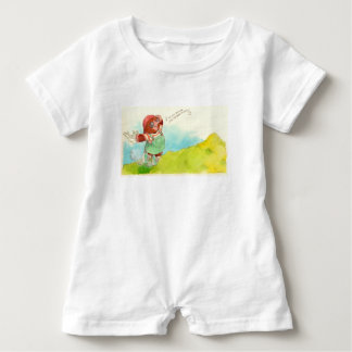 The sound of music! baby bodysuit