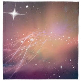 The sound of stars napkin