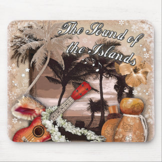 The Sound of the Islands Mouse Pad