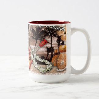 The Sound of the Islands Two-Tone Coffee Mug