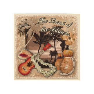 The Sound of the Islands Wood Canvas