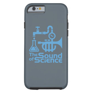 The Sound or Science - iphone case blue Tough iPhone 6 Case