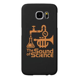 The Sound or Science - Samsung case orange Samsung Galaxy S6 Cases