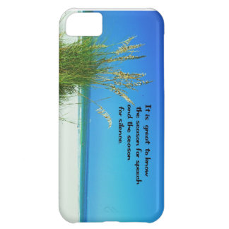 The sounds of Silence iPhone 5C Case