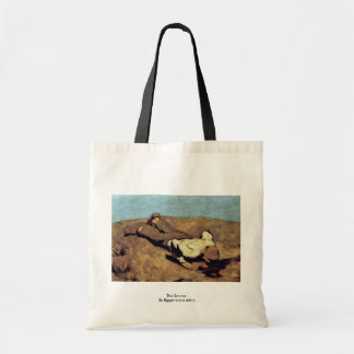 The Source By Egger-Lienz Albin Canvas Bags