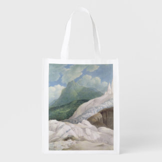 The Sources of the Aveyron,1781 (w/c) Reusable Grocery Bag