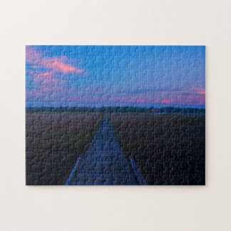 The South Carolina Sunset Jigsaw Puzzle