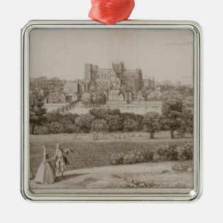 The South-East Prospect of Rippon, 1731-48 (line e Christmas Ornament