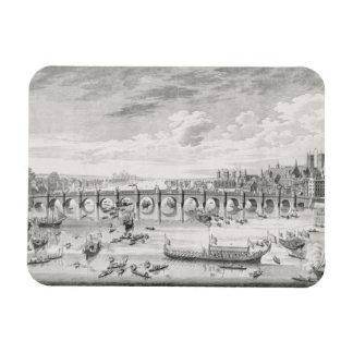 The South East Prospect of Westminster Bridge - Bo Rectangular Photo Magnet