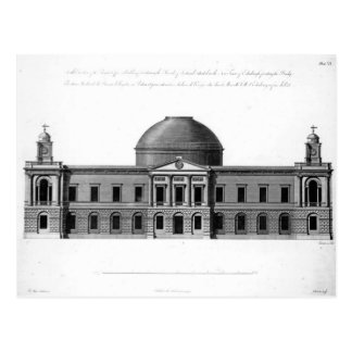 The South Elevation of Register House, Postcard