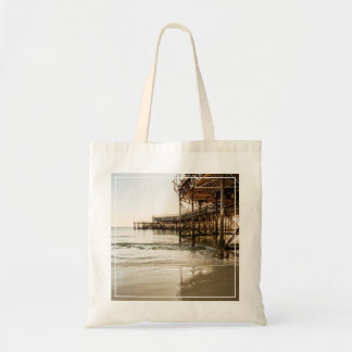 The South Parade Pier On The Coast At Southsea Budget Tote Bag