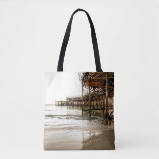 The South Parade Pier On The Coast At Southsea Tote Bag