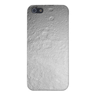 The South Pole of Saturn's moon Tethys iPhone 5/5S Cases