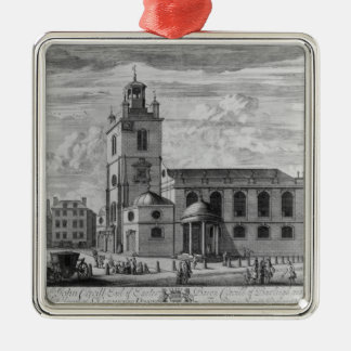 The South Prospect of the Church of St. Christmas Ornament