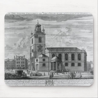 The South Prospect of the Church of St. Mouse Mat