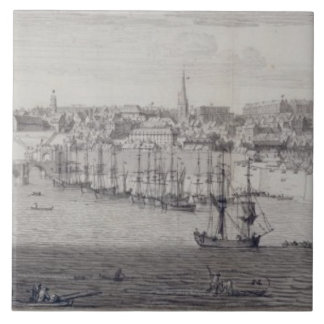 The South View of Berwick Upon Tweed, c.1743-45 (p Tile