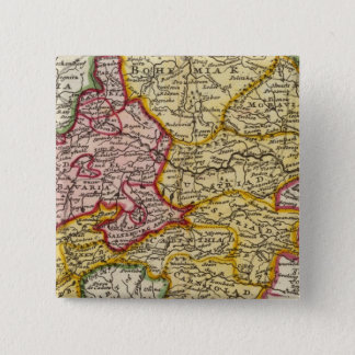The southeast part of Germany 15 Cm Square Badge