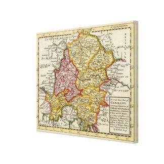 The southeast part of Germany Canvas Print