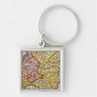 The southeast part of Germany Key Ring