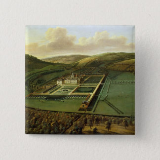 The Southeast Prospect of Hampton Court, Herefords 15 Cm Square Badge