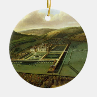 The Southeast Prospect of Hampton Court, Herefords Christmas Ornament