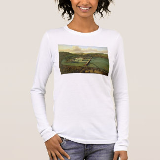 The Southeast Prospect of Hampton Court, Herefords Long Sleeve T-Shirt