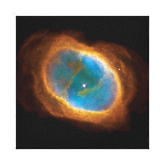 The Southern Ring Nebula Stretched Canvas Prints