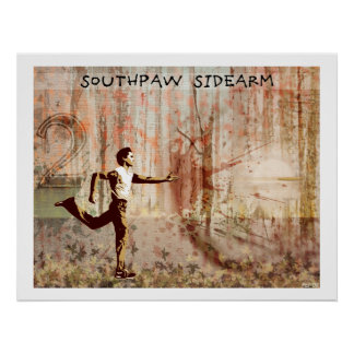 The Southpaw Sidearm Poster