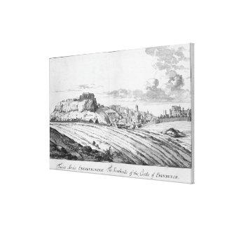The Southside of the Castle of Edinburgh Canvas Print
