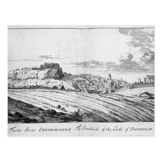 The Southside of the Castle of Edinburgh Postcard