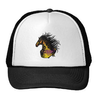 THE SOUTHWESTERN HORSE MESH HAT
