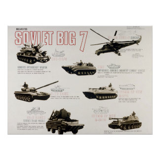 The Soviet Big 7 Poster