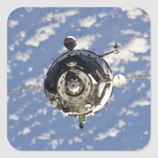 The Soyuz TMA-01M spacecraft Square Sticker