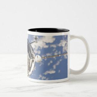 The Soyuz TMA-01M spacecraft Two-Tone Coffee Mug