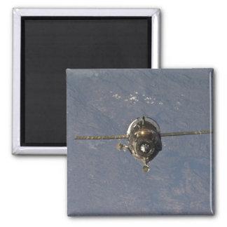 The Soyuz TMA-19 spacecraft 2 Square Magnet
